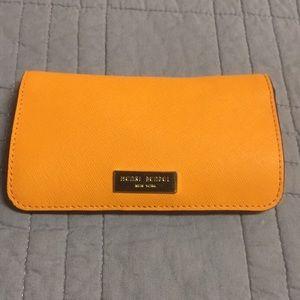 Henri Bendel Orange Card Holder